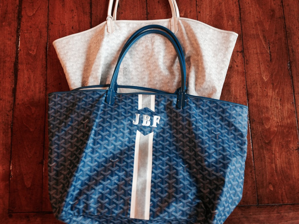 the goyard tote great for the weekend it s so clutch